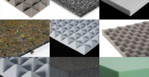 Tipos de materiales para insonorizar